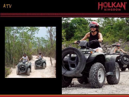 holkan ATV 4x4 jungle ride rally