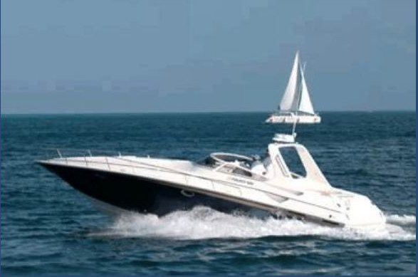 Part of the growing Fountain collection, this yacht combines top ...