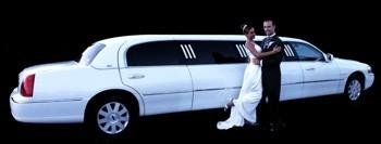 limousine wedding