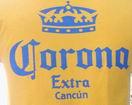 Design 014   CORONA Beach Club  Mexico Cancun Tshirts Souveniors postcards DVD and tours